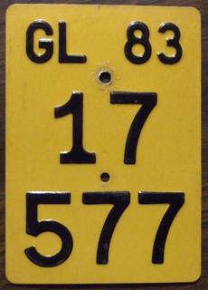 SWITZERLAND 1983 moped