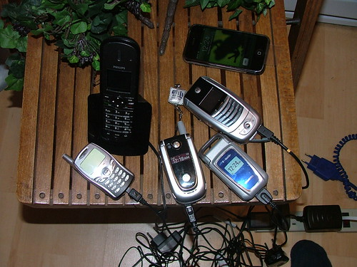 Phones and wires