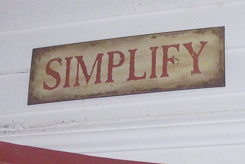 simplify red