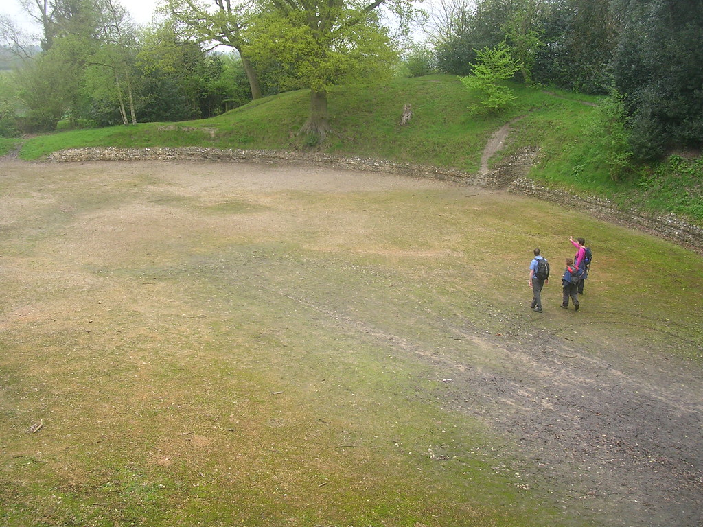 Calleva ampitheatre Mortimer to Aldermaston