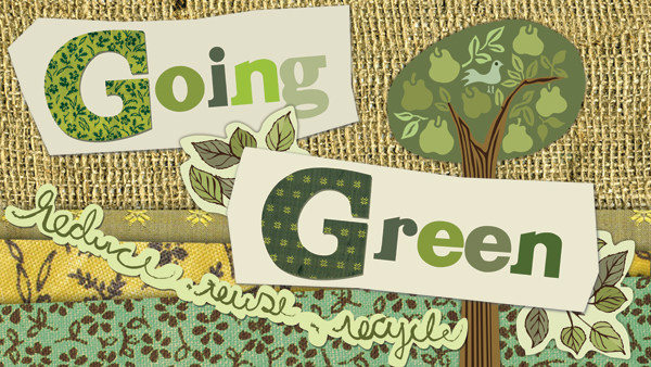 Going Green graphic