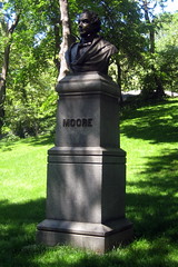 NYC - Central Park: Thomas Moore Statue