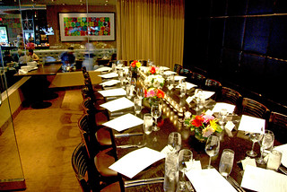 Private dining room at Bloom Restaurant Scottsdale