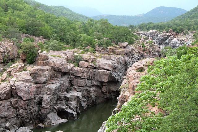 Cauvery ravine