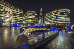 London - The scoop next to the city hall by Helmut Wendeler aus Hanau