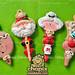 Fancy Flours red set by Chapix Cookies