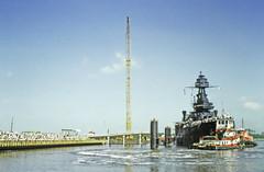 BB-35 Returns to San Jacinto, July 26, 1990 o
