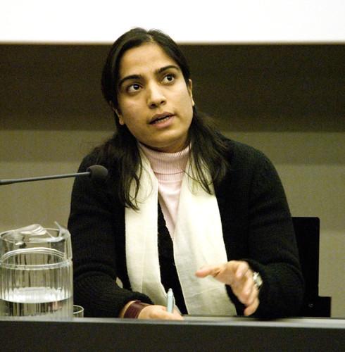 Malalai Joya speaking in Finland
