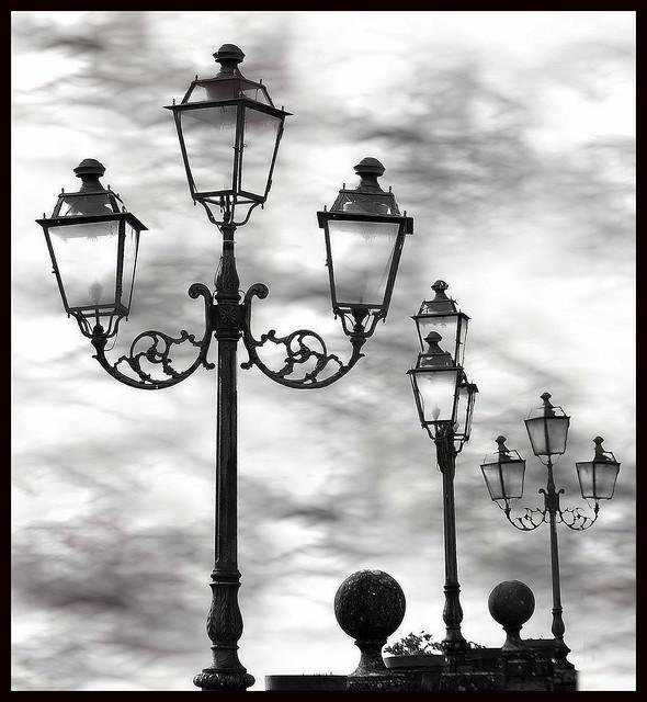 Arms towards the sky