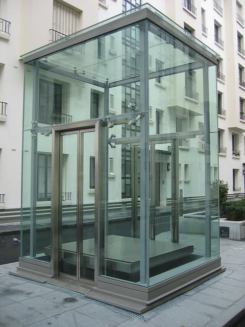 Glass Elevator Boulogne Paris Flickr Photo Sharing