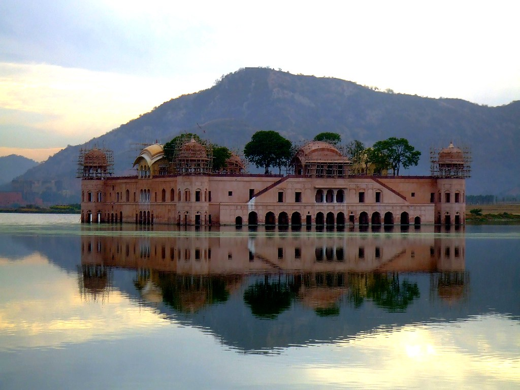 Amazing Water Palace Jal Mahal Jaipur In India Photos