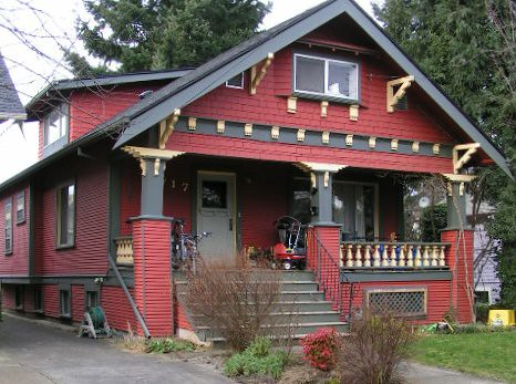 Craftsman bungalow color schemes joy studio design for Craftsman exterior color schemes