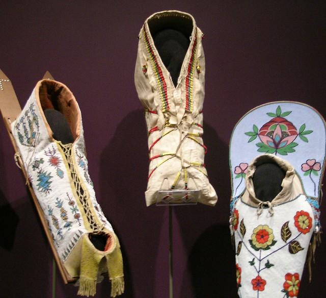 Comanche, Arapaho and Flathead Cradleboards