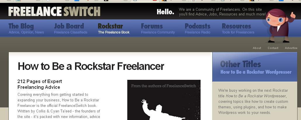 El mejor libro y el mejor blog para ser freelancer taringa for Jobs als freelancer