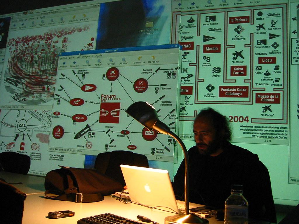 Osfa y los mapas del Forum 2004