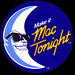 McDonalds - Mac Tonight promo sticker - 1986