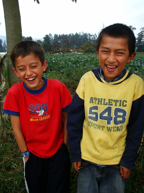 NIÑOS RIENDO EN CHIA | Flickr - Photo Sharing!
