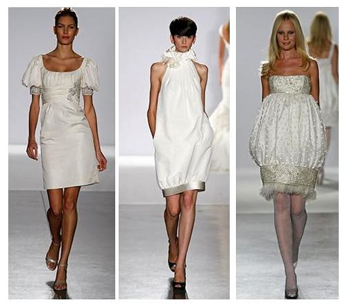 Short wedding gowns couture for Short couture wedding dresses