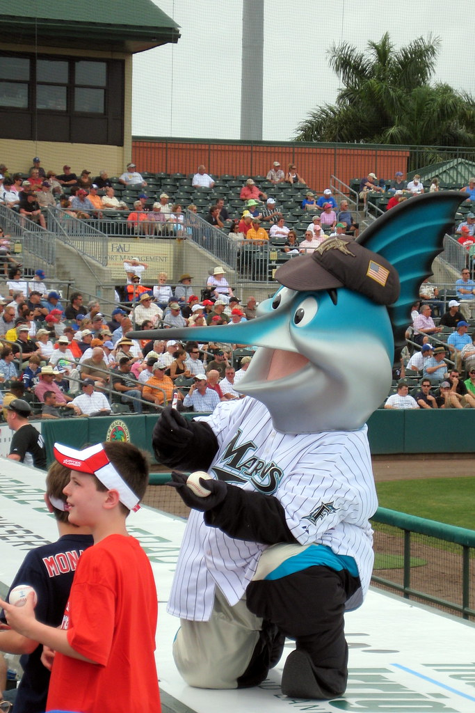 Spring Training - Roger Dean Stadium - Billy the Marlin