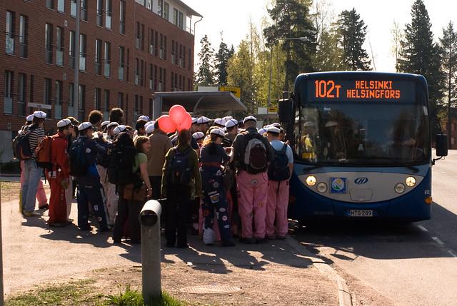 Autobús a Helsinki