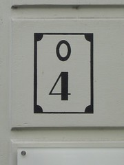 signage, white, sign, number, house numbering,