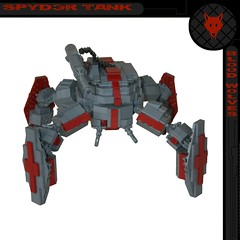 Blood Wolves: Spyder Tank