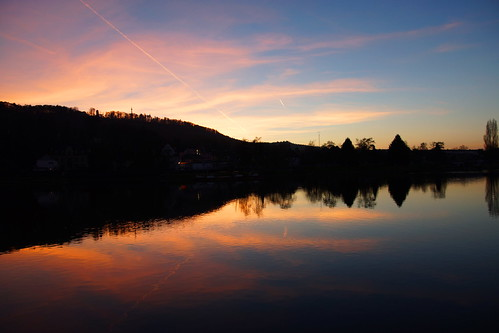 sunset black water night sunrise wasser day spiegel sony clear 1750 weser tamron spiegelung hameln mirow slta65v
