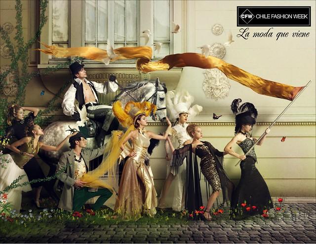 Chile Fashion Week grafica