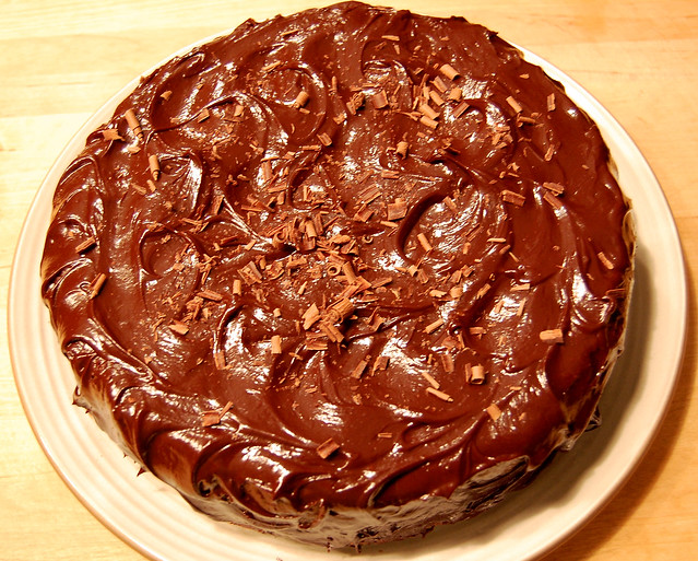 Flourless Chocolate Cake with Chocolate Glaze | Flickr - Photo Sharing ...