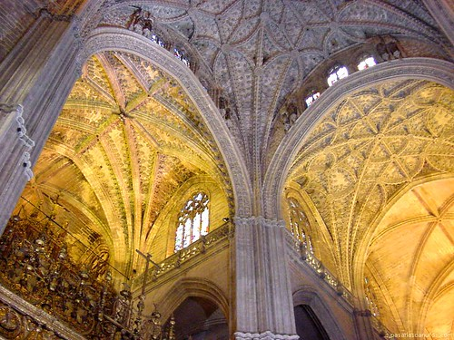 La catedral de sevilla - Catedral de sevilla interior ...