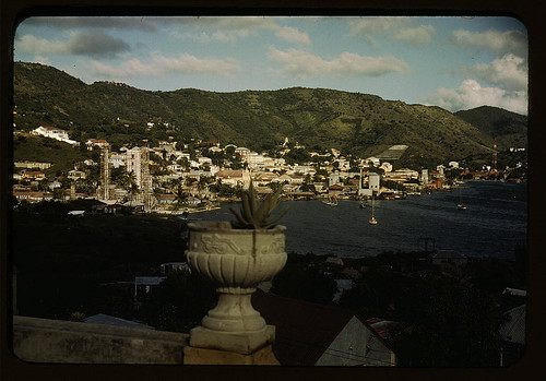 French village, a small settlement on St. Thomas Island, Virgin Islands (LOC)