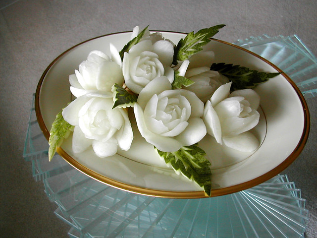 Daikon rose bouquet flickr photo sharing