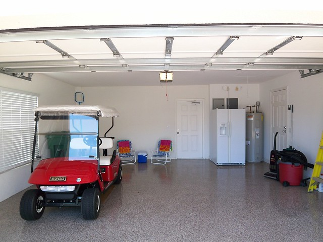 Garage golf cart sarasota florida flickr photo for Golf cart garage door