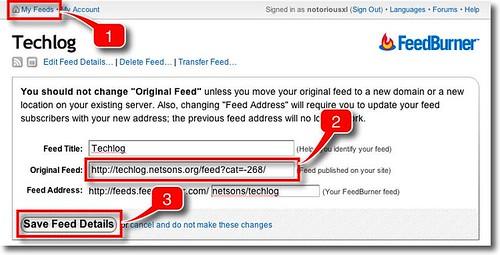 Wordpress: nascondere categorie nel feed