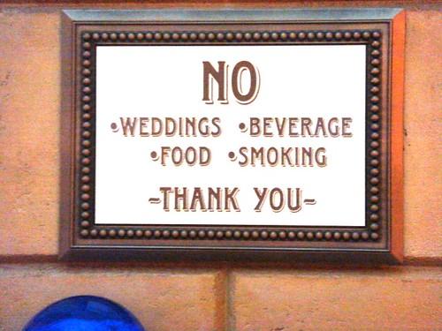 No Weddings?