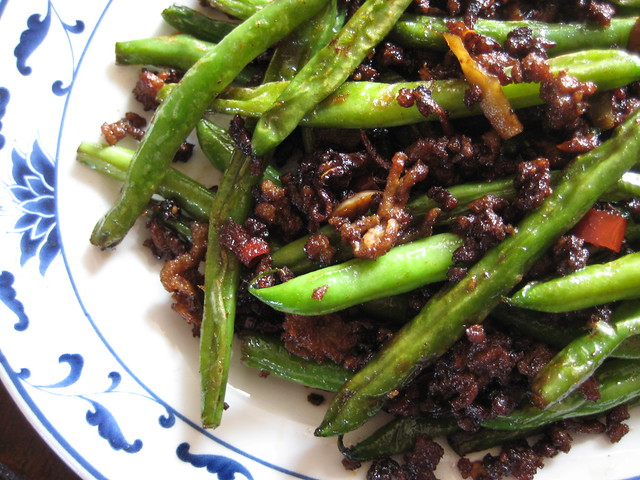 dry fried string beans | Flickr - Photo Sharing!