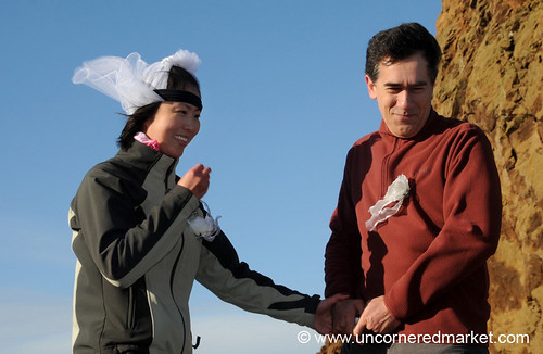Exchanging Vows in Antarctica