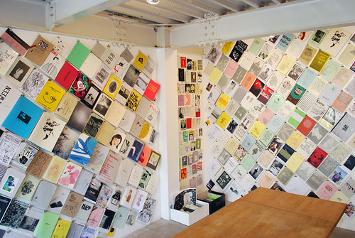 Zine Library at No.12 Gallery