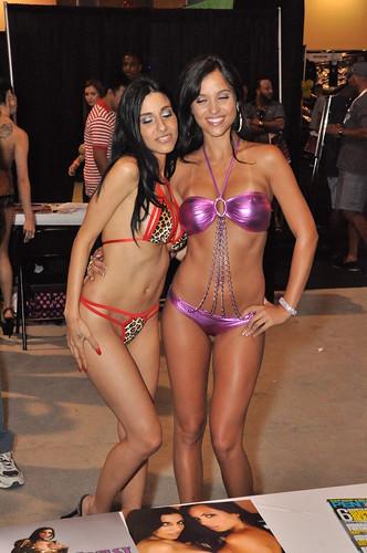 thong bikini miami DSC_1712 - Janessa Brazil & Idelsy silk duvet cover