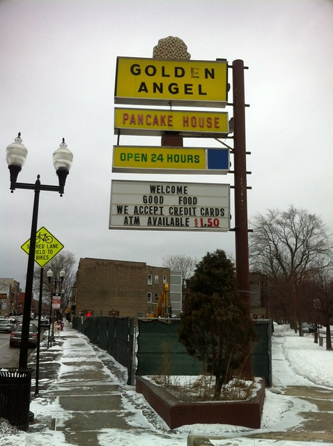 Golden Angel Pancake House, RIP