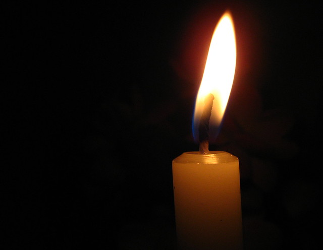 candle in the dark - photo #23