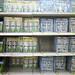 CFLs on shelf by Clean Wal-Mart