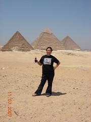 Lea in Egypt