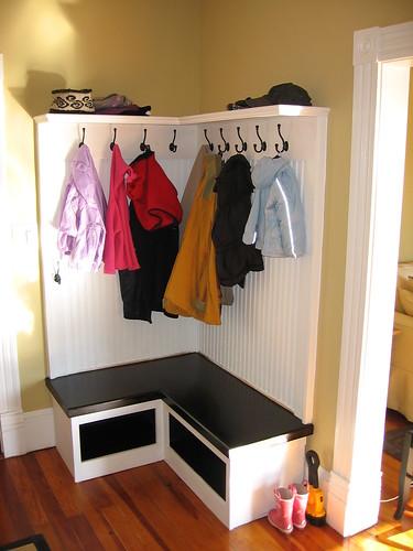 Built-in Coat Rack/Storage