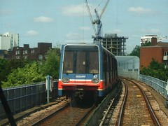 Dockland light railway Tower to Greenwich14