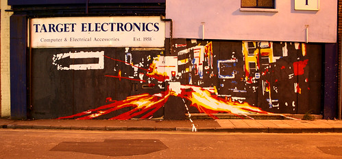 Target Electronics - Light-trails on the Croft