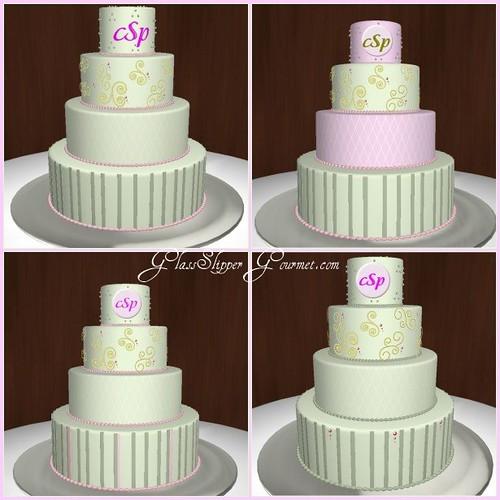 Virtual Cake Mosiac for Christina Flickr - Photo Sharing!