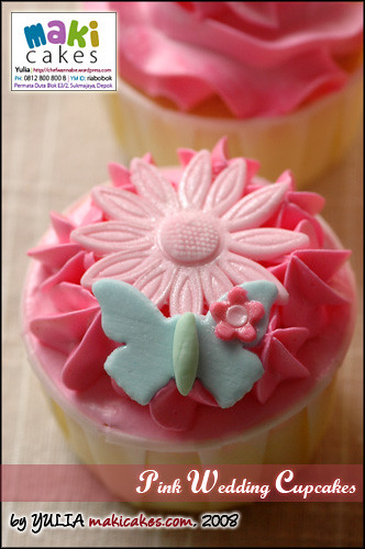 Pink Wedding Cupcakes 3