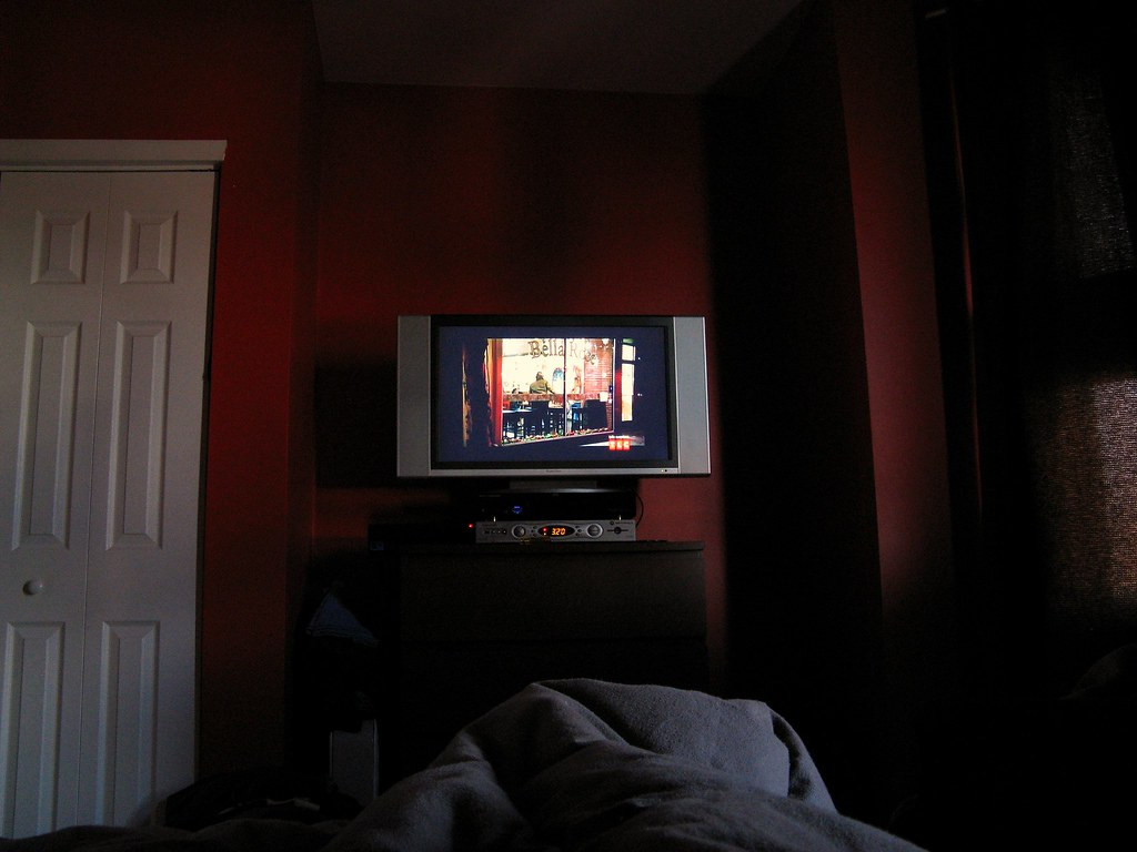 Tv In Bed : King size tv bed frame and mattress for sale tv bed