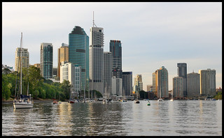 Brisbane River from CityCat-1+